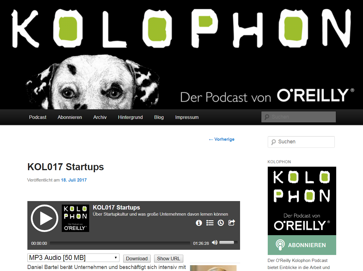 Podcast Startups