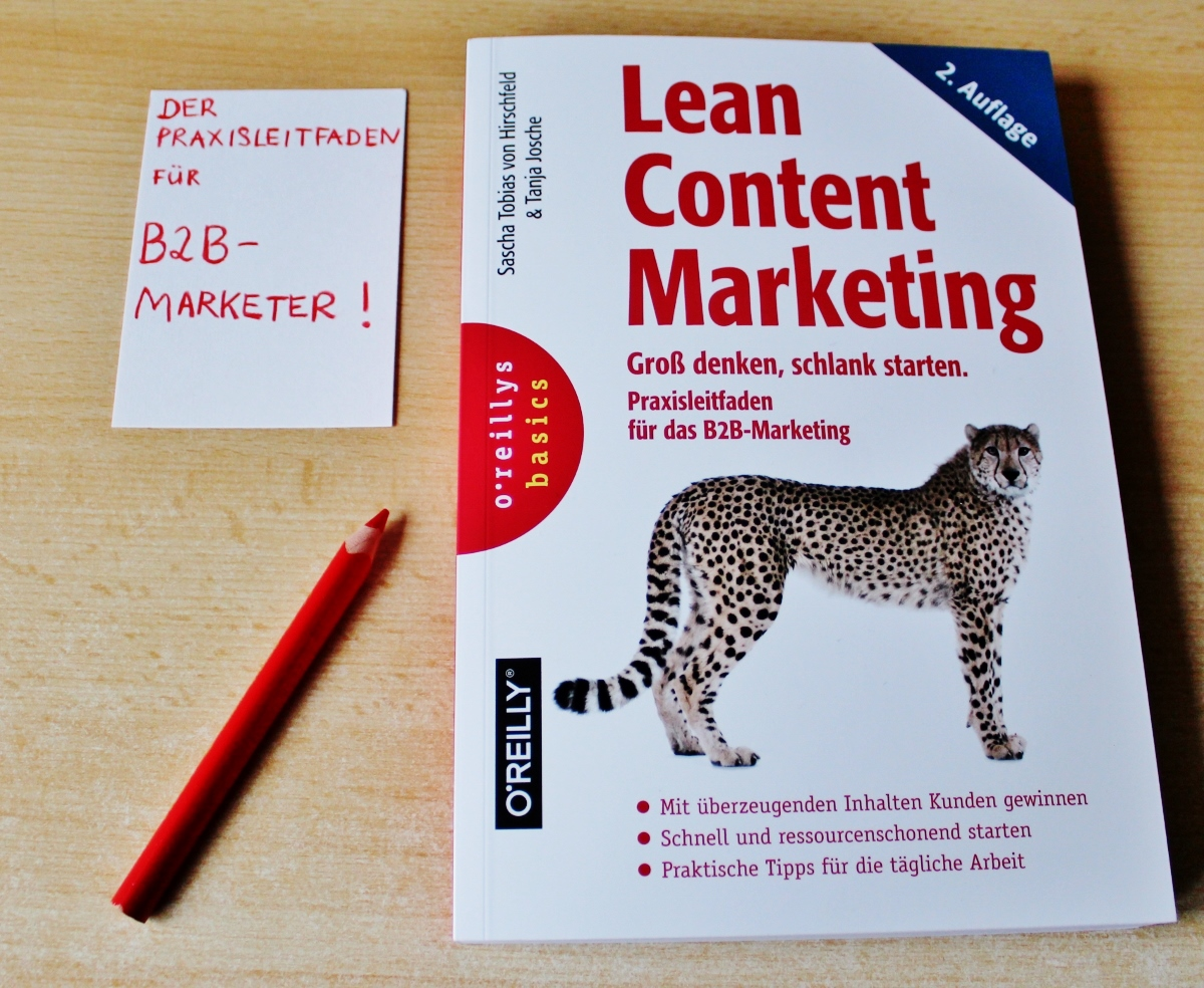 Lean Content Marketing